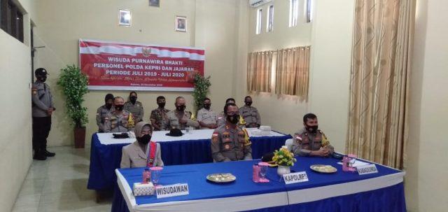 kegiatan dilaksanakan secara Virtual yang dipimpin oleh Kapolda Kepri